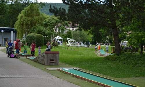 Golf sur pistes