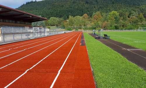 Rénovation de la piste d'athlétisme